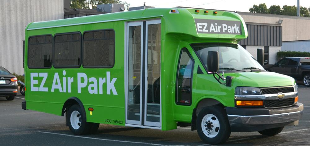 ez air park shuttle bus