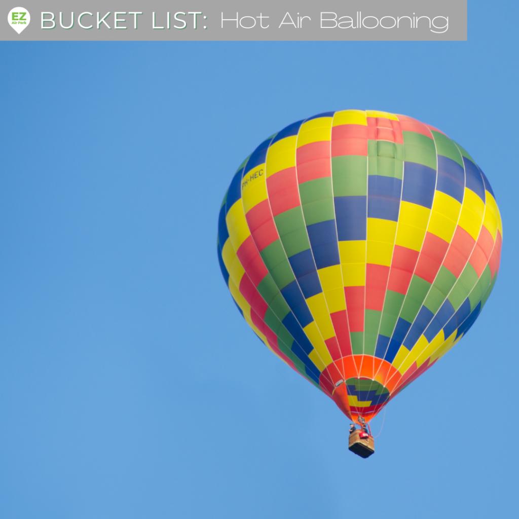 hot air balloon rides bucket list