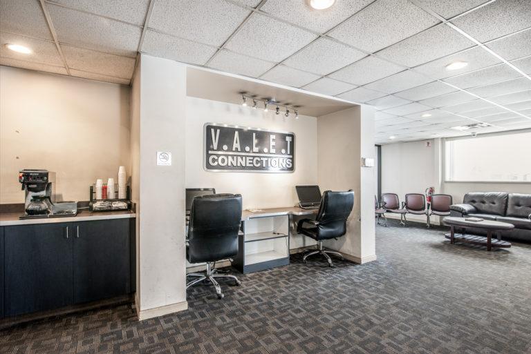 Valet Connections DTW Parking Hallway