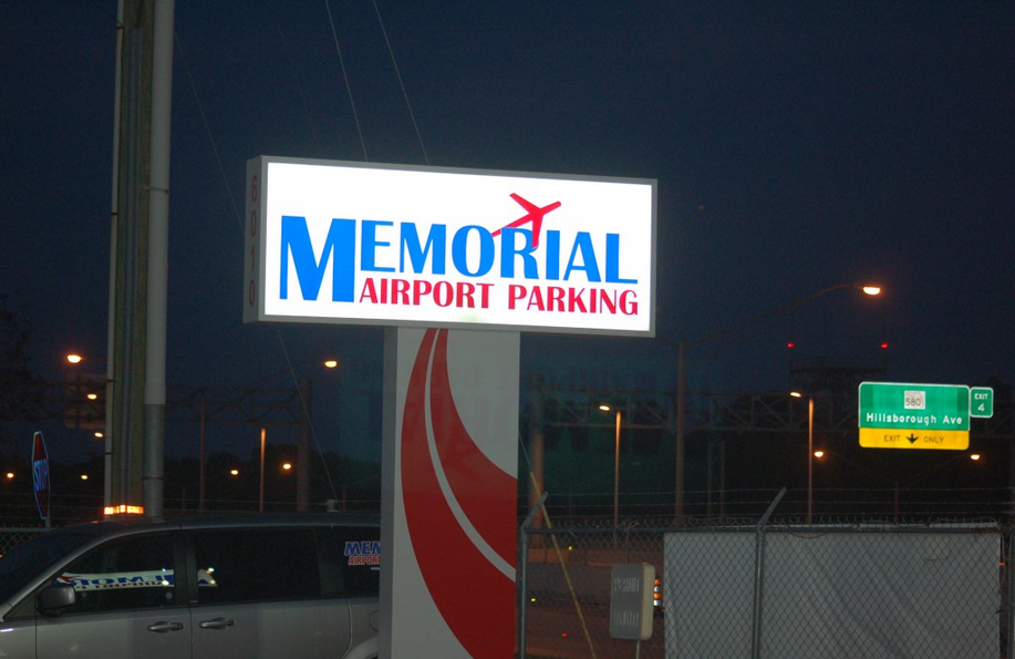 Memorial Airport Parking Tampa Florida TIA