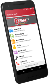Get the OhPark Parking App