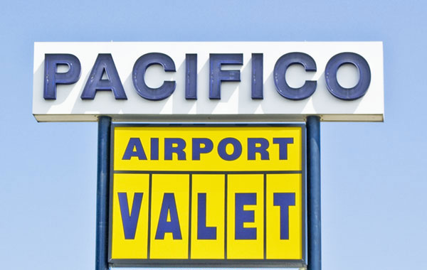 Pacifico Airport Valet services Philadelphia International Airport parking.