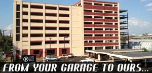 SNAP Parking garage in Newark