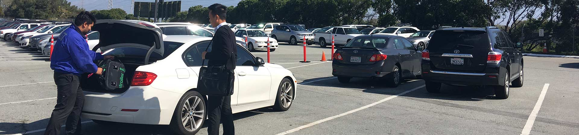 Valet Service at Anza Parking