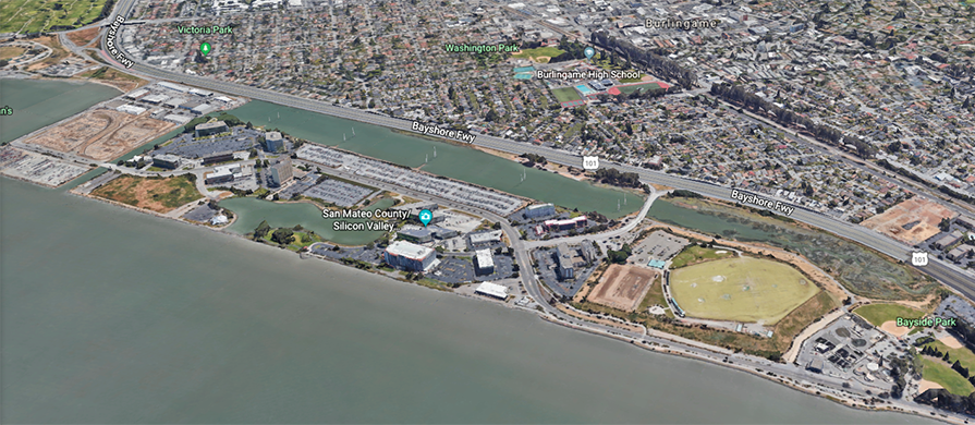 Anza Parking Aerial View