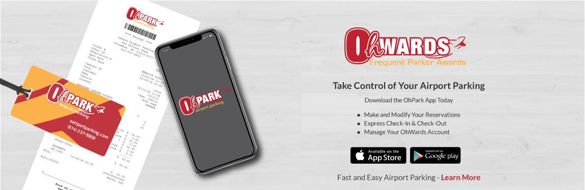 OhPark App Banner