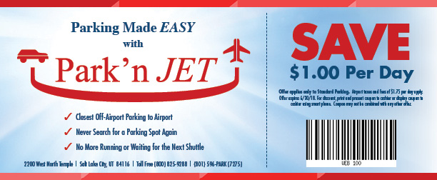 Park'n Jet - Three Coupons-1