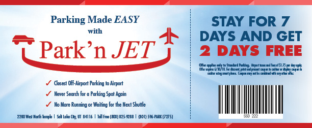Park'n Jet - Three Coupons-2