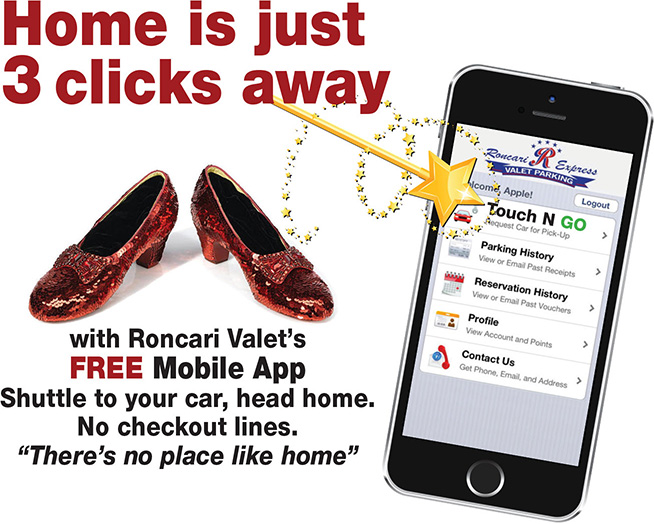 roncari valet coupons