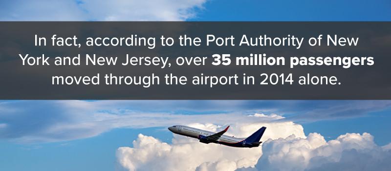 Airport passengers stat