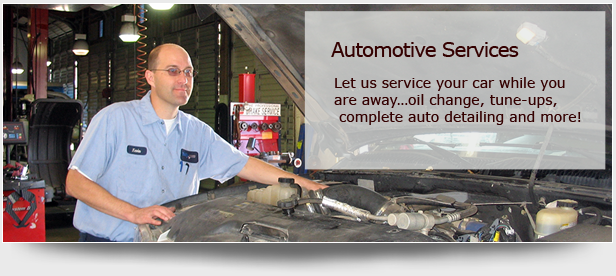 Automotive Services - let us service your car while you're away