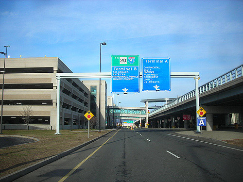 Bradley Airport parking
