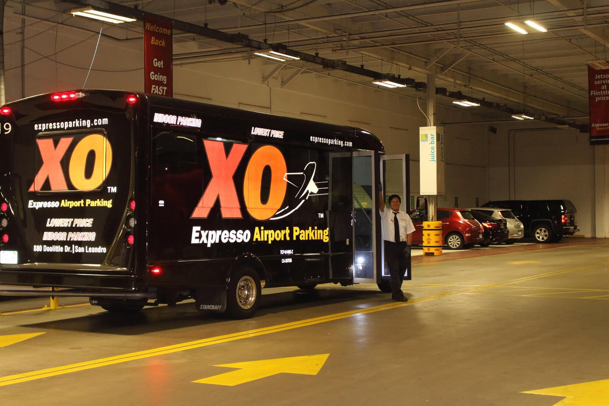 Expresso airport parking coupon oakland